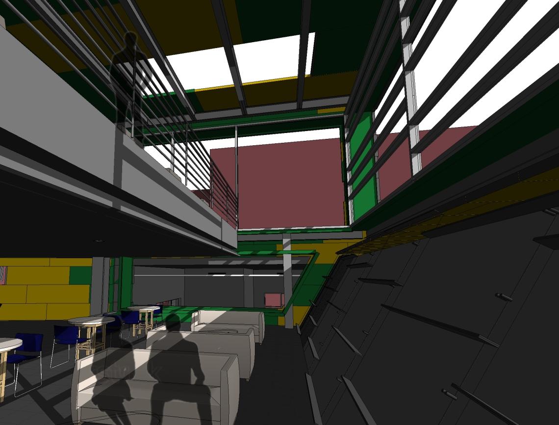 perspective of atrium